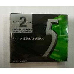 Five chicle hierbabuena